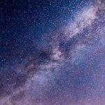 Cosmonautics day sky night star