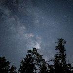 Galaxy milky way nature night sky